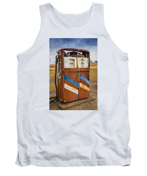 Tank Top featuring the photograph Fuel Pump by Keith Hawley