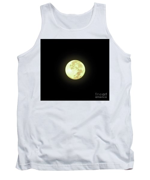Full Moon August 2014 Tank Top by D Hackett