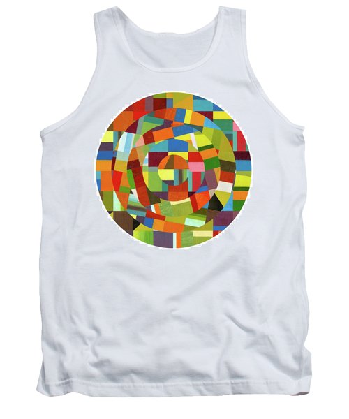 Tank Top featuring the painting Full Tilt by Michelle Calkins
