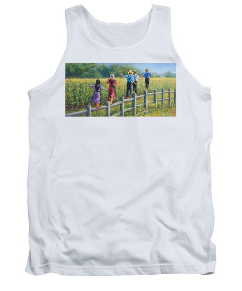 Girls Can To Tank Top