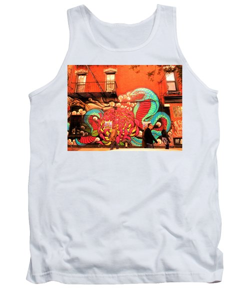 Funky Brooklyn Fire Escape  Tank Top by Funkpix Photo Hunter