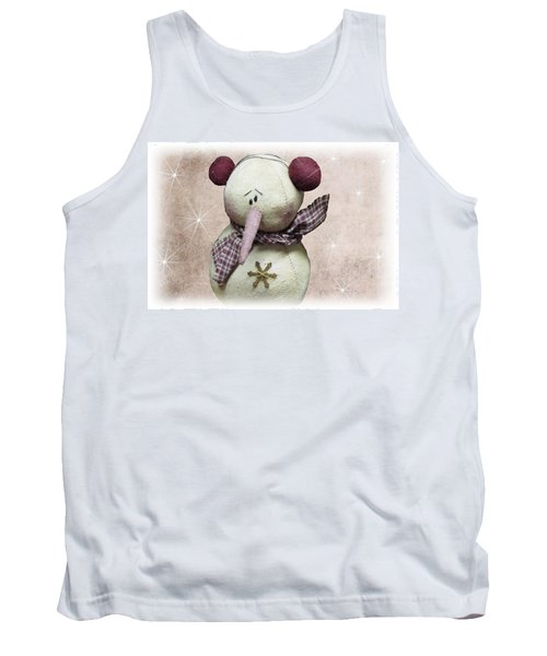Fuzzy The Snowman Tank Top
