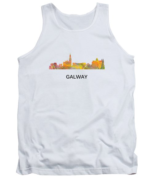 Galway Ireland Skyline Tank Top