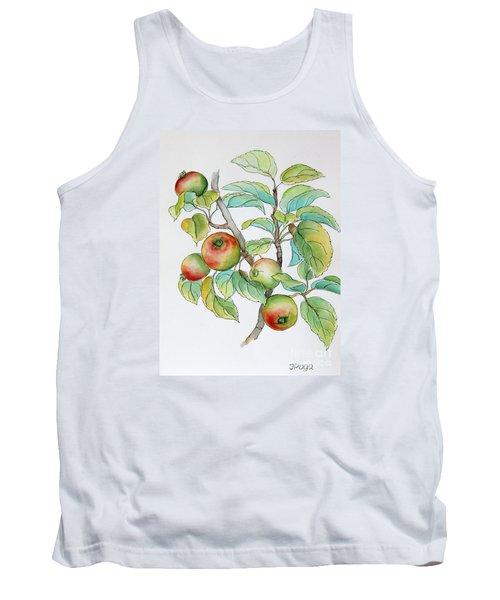 Garden Apples Sketch Tank Top