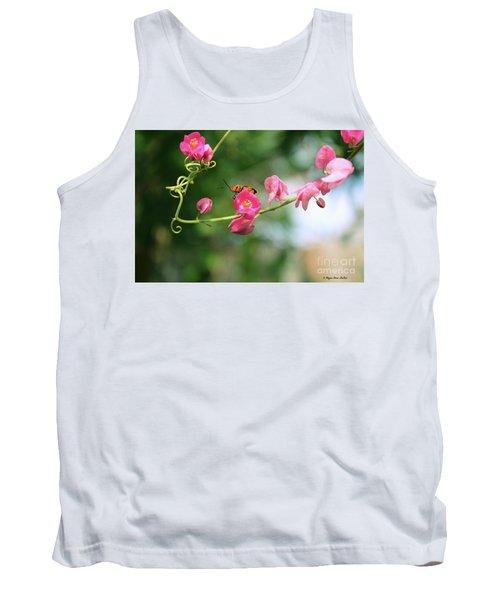 Tank Top featuring the photograph Garden Bug by Megan Dirsa-DuBois