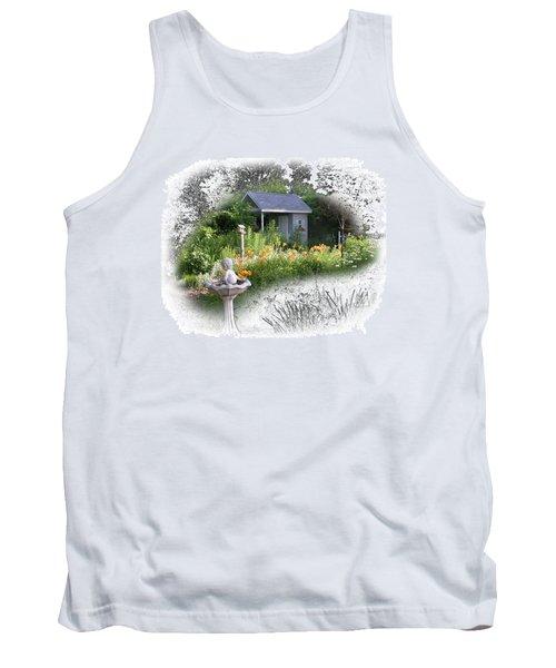 Garden House Tank Top