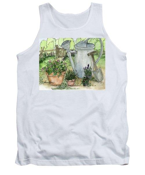 Garden Tools Tank Top