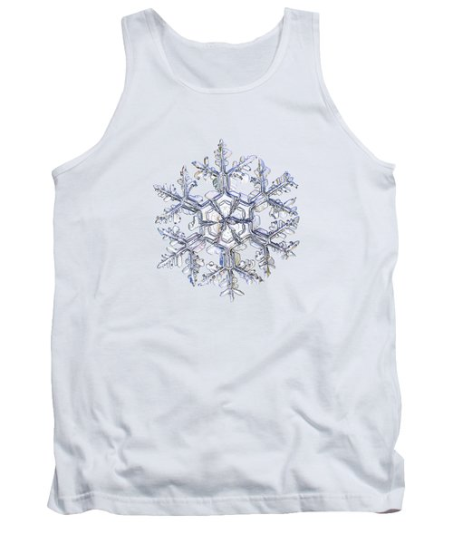 Gardener's Dream, White Version Tank Top by Alexey Kljatov