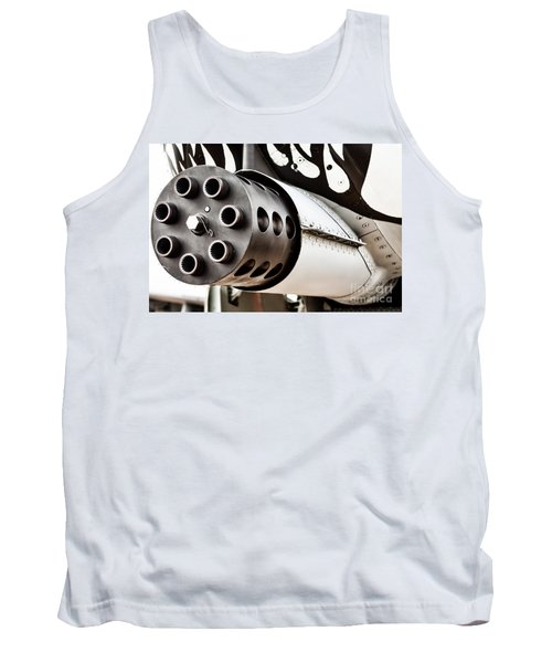 Gatling Tank Top by Lawrence Burry