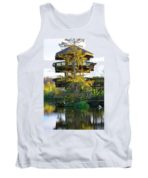 Gator Tower Tank Top by Josy Cue