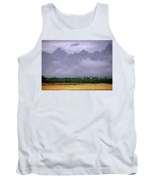 Geese, Grand Tetons Tank Top