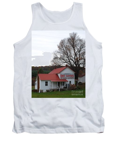 Tank Top featuring the photograph General Store by Eric Liller