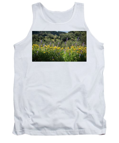Tank Top featuring the photograph Gently Swaying In The Wind  by Saija Lehtonen