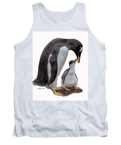Gentoo Penguins Tank Top