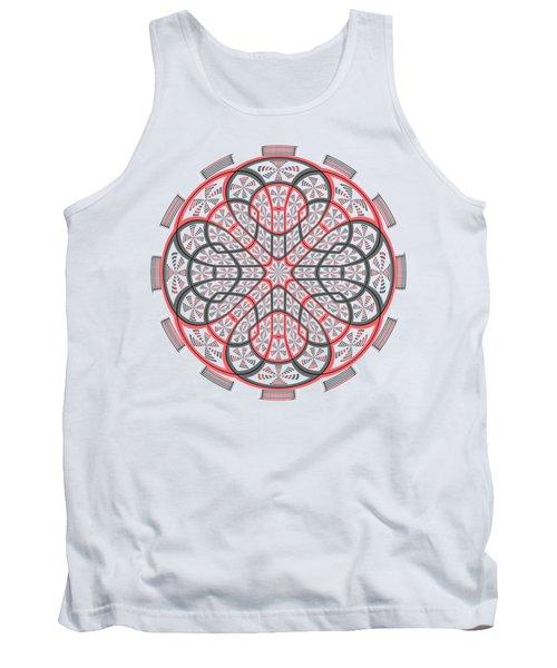 Geometric Mandala Tank Top