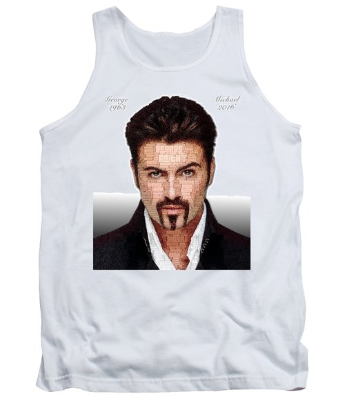 George Michael Tribute Tank Top by ISAW Gallery