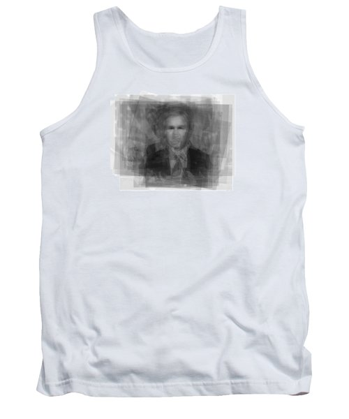 George W. Bush Tank Top by Steve Socha