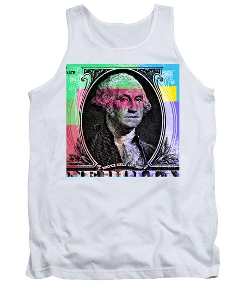 George Washington Pop Art Tank Top