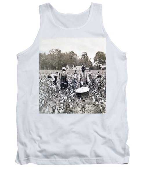 Georgia Cotton Field - C 1898 Tank Top by International  Images