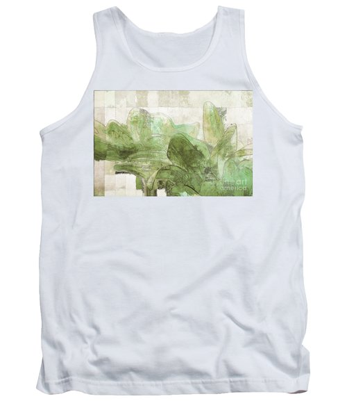 Tank Top featuring the digital art Gerberie - 30gr by Variance Collections