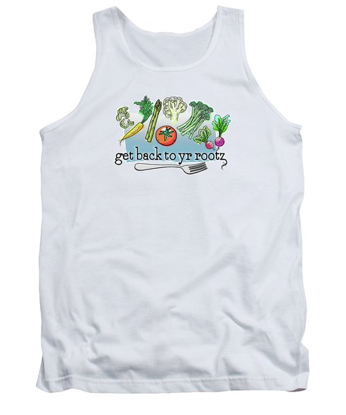 Get Back To Yr Rootz Tank Top