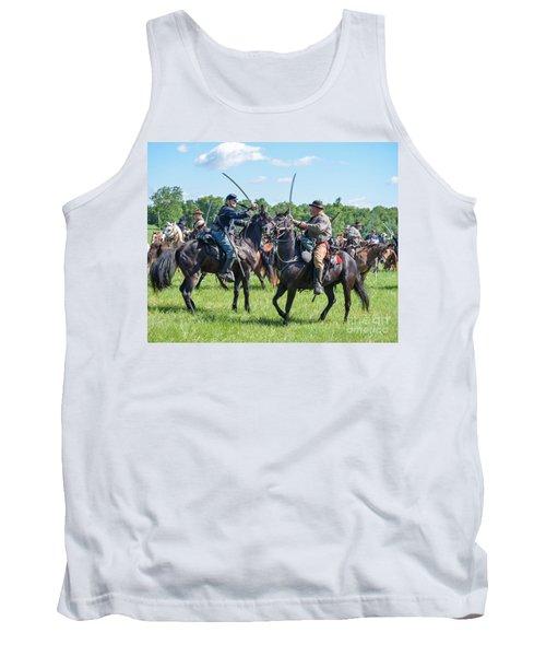 Gettysburg Cavalry Battle 7978c  Tank Top