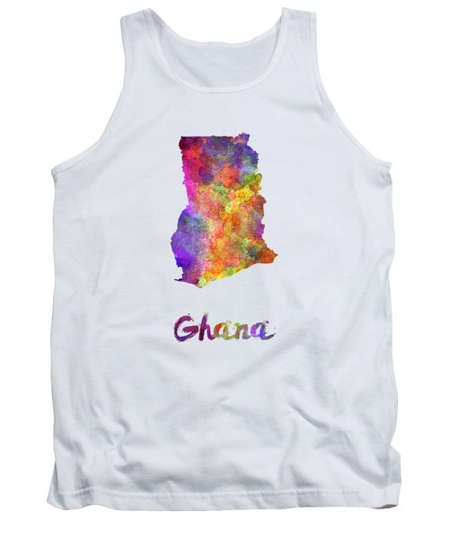 Ghana In Watercolor Tank Top