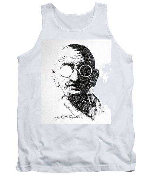 Ghandi Tank Top