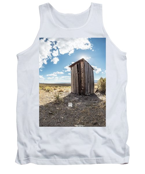 Ghost Town Outhouse Tank Top
