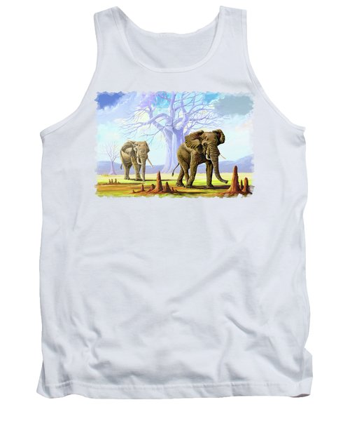 Giants And Little People Tank Top