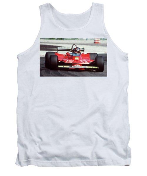 Gilles Villeneuve, Ferrari Legend - 01 Tank Top