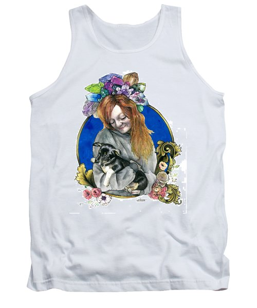Ginger And Her Lovelies Tank Top by Arleana Holtzmann