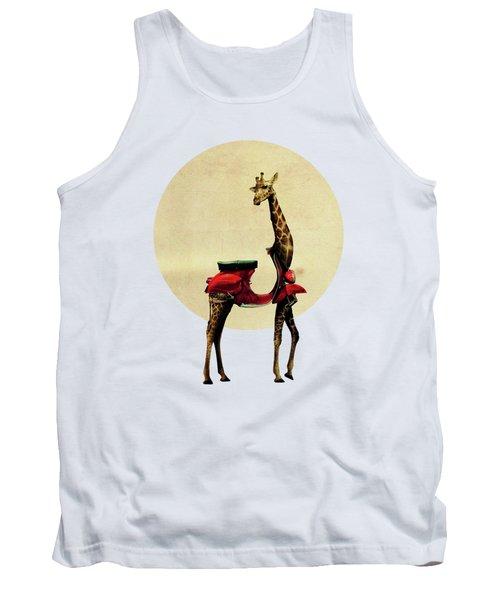 Giraffe Tank Top by Ali Gulec