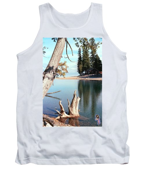 Glacier National Park 4 Tank Top