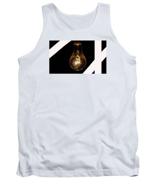 Glass Light Art Tank Top