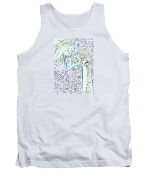 Tank Top featuring the photograph Glasshouse Jungle by Nareeta Martin