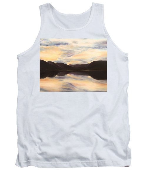 Tank Top featuring the painting Glencoe by Elizabeth Lock