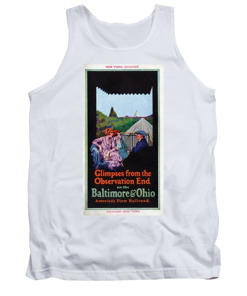 Glimpses From The Observation End Tank Top