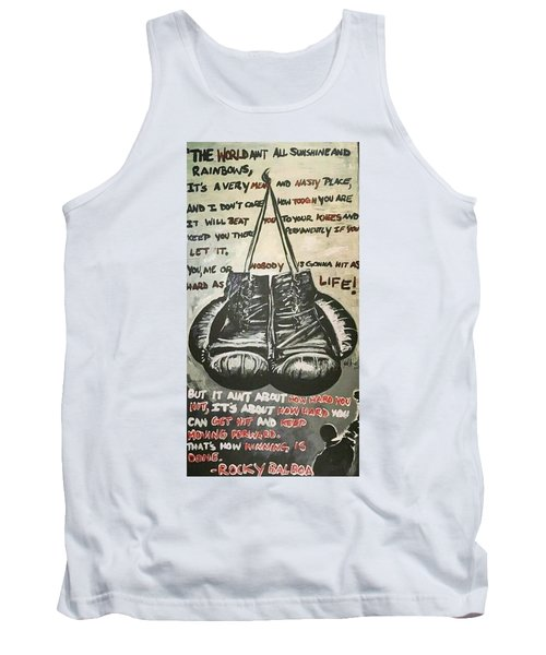 Gloves Of Life Tank Top