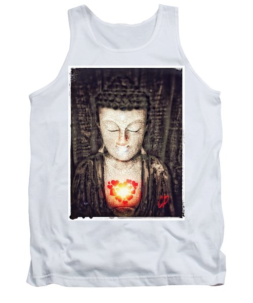 Glowing Heart Tank Top