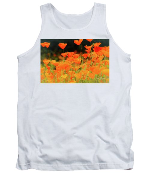 Glowing Poppies Tank Top