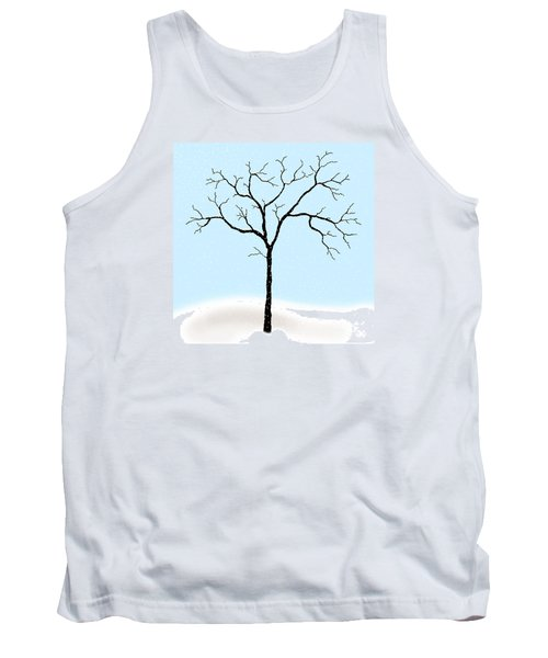 Gnarled In Winter Tank Top