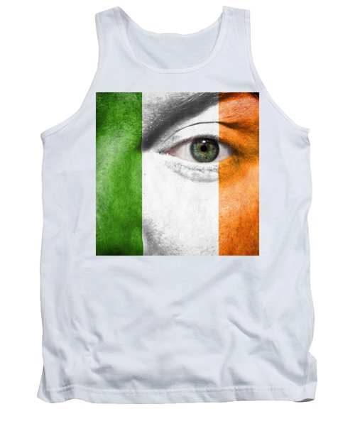 Tank Top featuring the photograph Go Ireland by Semmick Photo