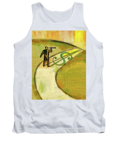 Tank Top featuring the painting Goal by Leon Zernitsky