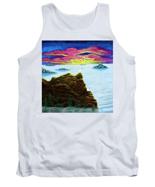 Goats On Dragons Tank Top