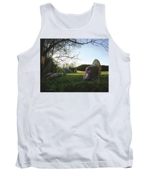 Gobbler's Morning Dance Tank Top