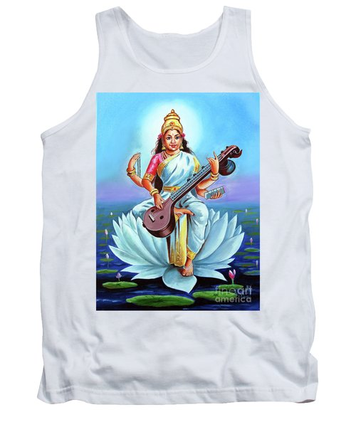 Goddess Of Wisdom And Knowledge Tank Top