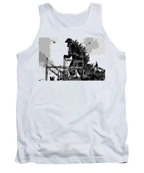 Godzilla Tank Top