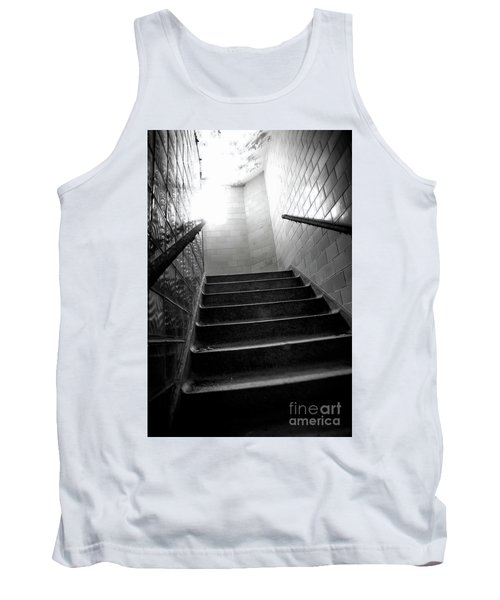 Tank Top featuring the photograph Going Up? by Randall Cogle