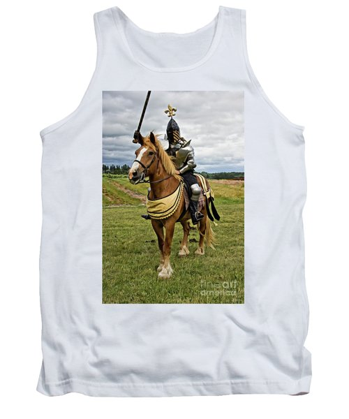 Gold And Silver Knight Tank Top